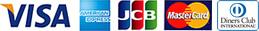 VISA,AMERICAN EXPRESS,JSB,Master Card,楽天