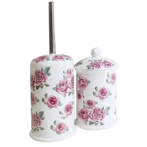 ロココ、姫系からシンプルまで。陶器やアクリルのおしゃれなバス・サニタリーのメニュー