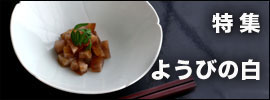 ようびの白 - 白磁・青白磁・青磁|和食器コーディネイト