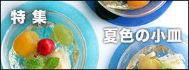 夏色の小皿|和食器コーディネイト