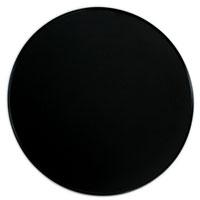 漆器:黒尺2足付丸盆・奥田志郎