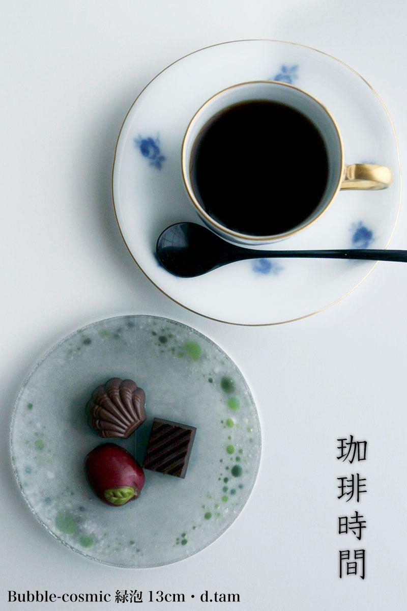 バラ文岡染めコーヒー碗皿・大倉陶園|和食器の愉しみ・工芸店ようび