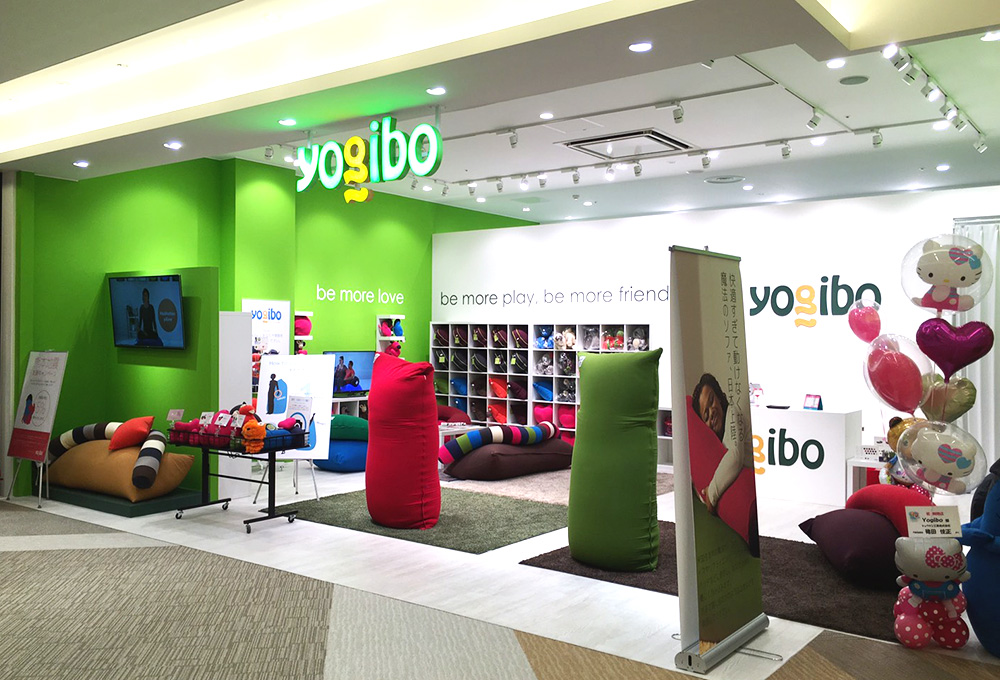 Yogibo あべのキューズモール店