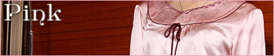 ヨーロピアンビンテージパジャマ:レディースピンク