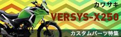 ヴェルシスX250カスタムパーツ特集