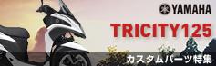 ニトリシティ125(TRICITY125)カスタムパーツ特集