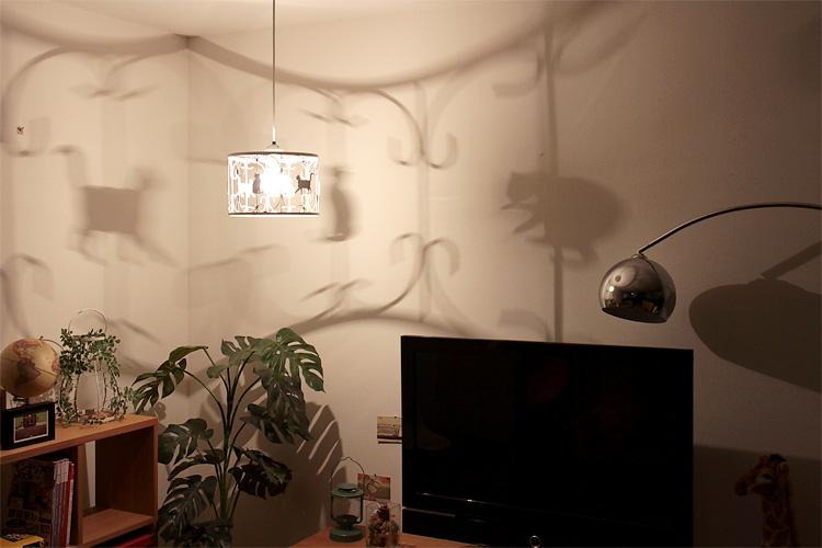 猫(ねこ)のペンダントライト PLUTO(プルートー)