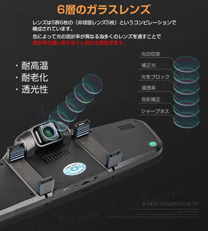�ե�HD �Хå��ߥ顼 ���֥��� Full HD 1080P �֥롼�쥤�ߥ顼 �⡼����� ������쥹Ͽ�� G���� ��F12HD