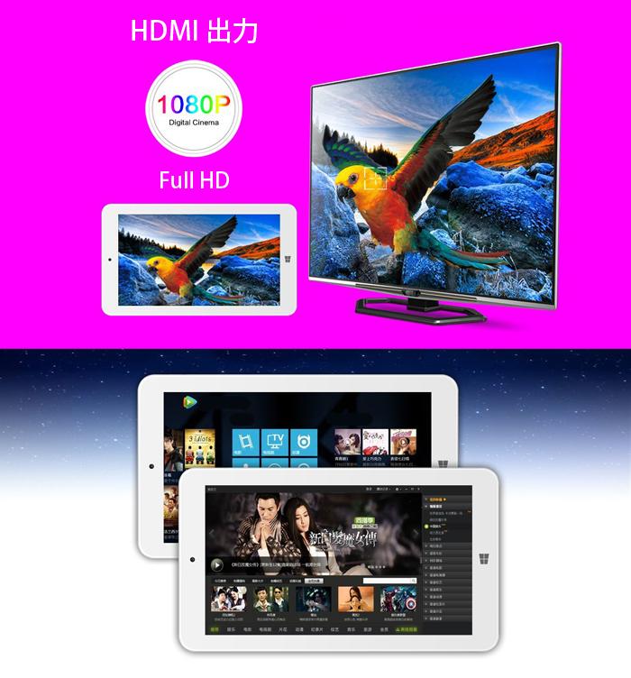 Ployer 7インチ Windows10 タブレット RAM:1GB/ROM:16GB intel 3735G Quad Core IPS液晶 Bluetooth ◇MOMO7W