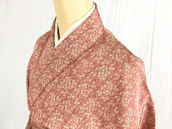 ウォッチリストランキング2位:小紋は洒落着として楽しむ型染めの着物です