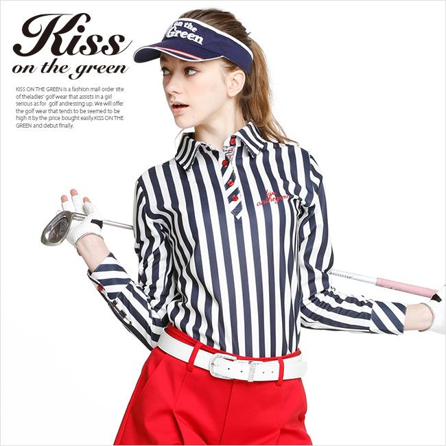 ゴルフ女子★春の愛されゴルフウェアはコレ!レディのトレンドコーデ紹介 (ポロシャツ)