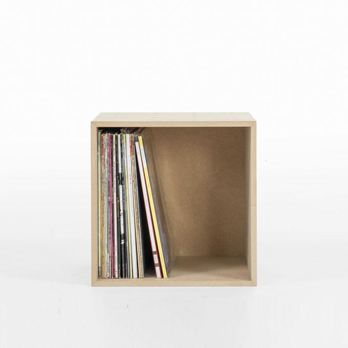 LPレコード収納ボックス