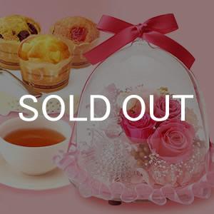 母の日 ギフト 2016 人気 ガラスドームLED(ピンク)