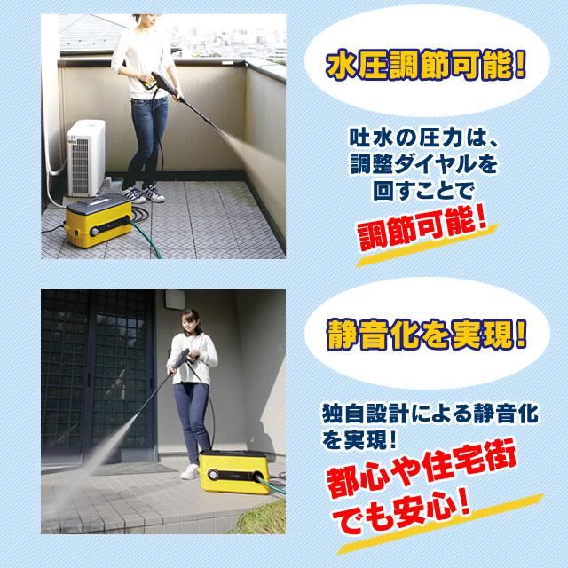 高圧洗浄機 FBN-604 ホワイト