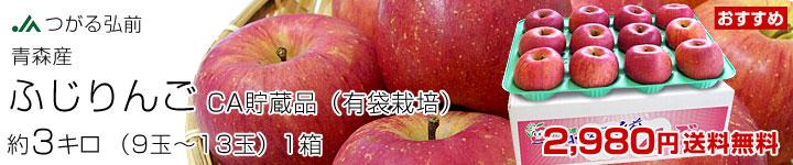 ふじりんご(有袋栽培)