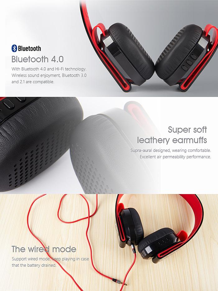 Bluetooth4.0 �磻��쥹�إåɥ��å� ���㲻 �Υ����㸺 ���ƥ쥪�ݡ����֥� �磻��쥹 �إåɥե��� ���ƥ쥪�إåɥ��å� �ϥե ��G600