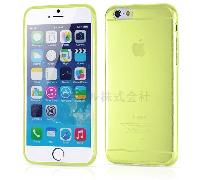 iPhone6用ソフトケース TPU保護ケース・カバー 超薄0.3mmソフトケース 軽量クリアケース