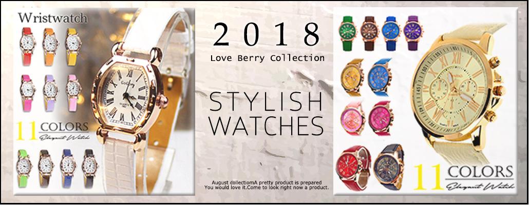 【高見え!コスパ◎】スタイリッシュな時計のセレクション!